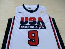 MICHAEL JORDAN 1992 USA Dream Team Olympic White Swingman Basketball Men Jersey