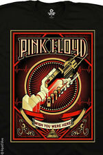PINK FLOYD-WISH YOU WHERE HERE-BLACK TSHIRT S-M-L-XL-XXL Waters, Gilmour