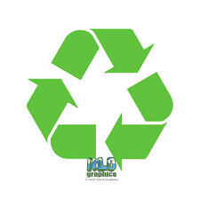RECYCLE Reduce Reuse Vinyl Sticker Decal Store Window Car Truck Responsible