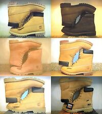 NEW! MEN'S WHEAT OR BLACK TIMBERLAND MOTORCYCLE WORK BOOTS 11 11.5 12 13