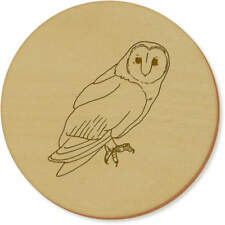 'Barn Owl' Coaster Sets / Placemats (vCR0018184)