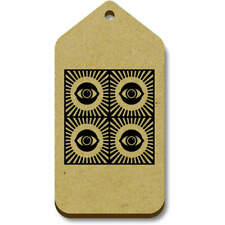 'Eye Motif' Gift / Luggage Tags (Pack of 10) (vTG0015385)
