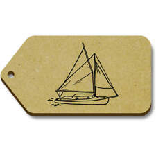 'Yacht Boat' Gift / Luggage Tags (Pack of 10) (vTG0016679)