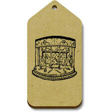 'Fairground Carousel' Gift / Luggage Tags (Pack of 10) (vTG0007822)