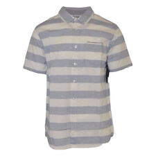 New With Tag Rip Curl Standard Fit Stripped Woven S/S Button Shirt (Retail $50)