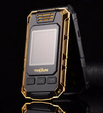 TKEXUN G5 Flip Double dual Screen Dual SIM Card long standby FM mobile Phone