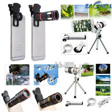 US Universal 8X 12X 18X Zoom Camera Lens Telephoto Telescope For iPhone 5 5S SE