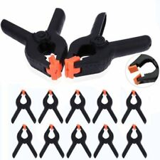 4/6X Heavy Duty Plastic Nylon Spring Clamp Clip Tips For Photography Background