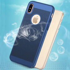 For iPhone X 8 7 iPhone 8 Plus Luxury Shockproof Slim Hard Protective Case Cover