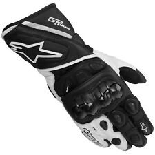 Alpinestars GP Plus Leather Motorcycle Gloves (Blk/Wh)  **Now Only £89.99**