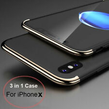 For iPhone X 10 8 7 Plus Case Ultra thin Hybrid Shockproof Armor Back Hard Cover