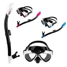Anti Fog Goggles Mask Snorkel Scuba Diving Set Swimming Dive Gear for GoPro