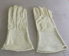 Leather Gauntlets, Cream, Civil War period