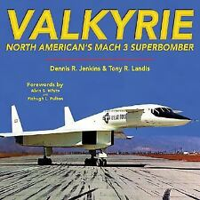 VALKYRIE NORTH AMERICAN'S MACH 3 SUPERBOMBER BOOK By SPECIALTY PRESS