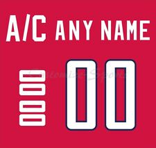 IIHF Olympic Hockey SOCHI 2014 Norway Red Jersey Customized Number Kit unsewn