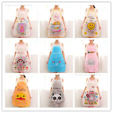 9Style PVC Waterproof Apron Kitchen Cooking Aprons Cute Cartoon Kitchen Dress