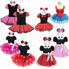Baby Toddler Girls Mickey Mouse  Halloween Costume Party Fancy Dress up Clothes