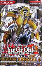 Yugioh - YGO - Hidden Arsenal 6 - HA06 - 001 - 030 - SR SCR - Top Mint