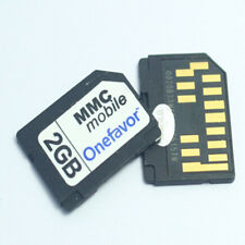 MMC Mobile Multimedia 2GB 1GB Onefavor Card RS MMC 13PINS NGage Memory