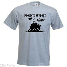 UN-OFFICIAL HELP FOR HEROES PROUD TO SUPPORT T SHIRT  man lady unisex CHARITY