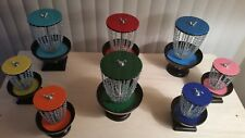 NEW - (SMALL) Tiny Disc Golf Baskets - Turn your house into a Disc Golf Course!