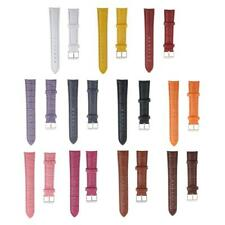 High Quality Mens Ladies Soft PU Leather Watch Band Strap Wrist Watch Strap 18mm