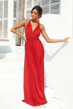 New women's The Perfect Date 2.0 Multiway Maxi Dress (Red)