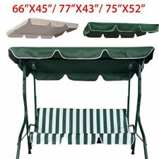 """Swing Top Cover Canopy Replacement Porch Patio Outdoor 66""""x45"""" 75""""x52"""" 77""""x43"""""""