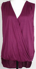 Guess Tank Top Twist Front Blouse NWOT