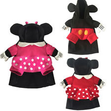 Pet Dog Cat Mickey Minnie Costume Party Fancy Dress Cosplay Clothes Apparel Hot