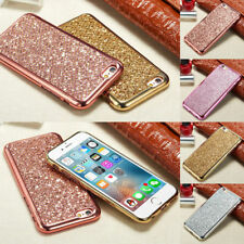 Bling Swa-roski Crystal Element Electroplating TPU Case Cover For Apple iPhone