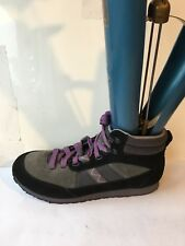 clarks incast leather size 7.5 D black grey HIKING walking womens boots shoes