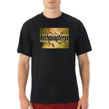 ARCHAEOPTERYX Fossil Dinosaur Paleontology Science Novelty Unique Gift Shirt Men