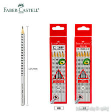 12PCS Faber-Castell Grip 2001 2B/HB Pencil Shape With A Unique Non-slip Dot Grip