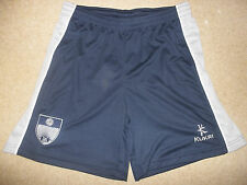KUKRI LEEDS GRAMMAR SCHOOL LOGO NAVY BLUE GREY PE KIT GYM FOOTBALL RUGBY SHORTS