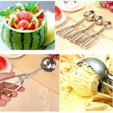 1pcs Stainless Steel Ice Cream Mashed Potato Cookie Kitchen Scoop Spoon