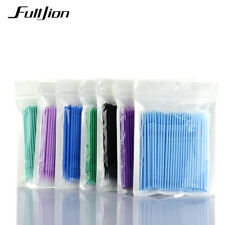 100 pcs/lot Durable Micro Brosse Jetable Extension de Cils Individuels