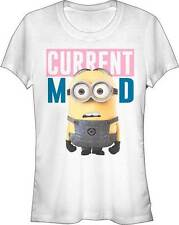 DESPICABLE ME MINION CURRENT MOOD JUNIORS LIGHTWEIGHT TEE SM TO 2XL