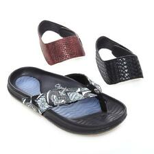 Tony Little Cheeks Bandals Exercise Sandals with Fashion Straps