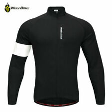 Winter Thermal Fleece Cycling Jacket  Windproof Warm Sports Jersey Comfort Coat