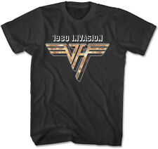 Van Halen 1980 INVASION T-Shirt Officially Licensed Sizes S to 4XL New Authentic