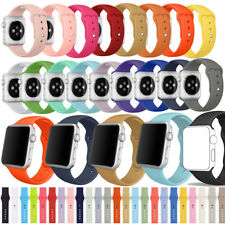 PASBUY® 91B Replacement Silicone Sport Band Strap for Apple Watch Series 3/2/1