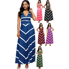 V neck cut out back printed maxi dress empire casual women full length cocktail
