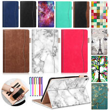 Smart Flip Leather Stand Wallet Deluxe Case Cover For Amazon Kindle Fire 7/HD 8
