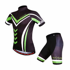 Summer Men's Cycling Set Short Sleeved Shirts Jersey Sports Bike Padded Shorts