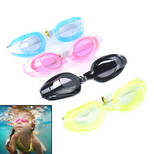 Kids Swimming Goggles Pool Beach Sea Swim Glasses Children Ear Plug Nose Clip ES