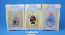 Hallmark Ornaments Lot of 5 SPRING easter PHOTO HOLDER egg Lily IN THE BOX