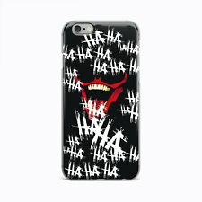 Joker Smile Ultra Thin Rubber Gel Silicone Case For Apple iPhone 5 6 7 8 Plus X