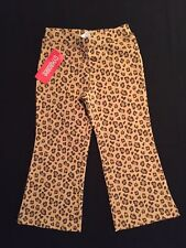 Gymboree NWT Girls Kitty Glamour Brown Leopard Pants Size 3 & 4