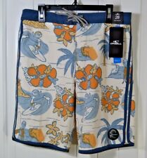 NWT BOYS ONEILL HYPERFREAK NICK SIMICH SWIMMING SUIT TRUNKS BOARD SHORTS 14, 16